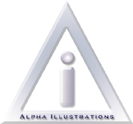 Alpha Illustrations Logo