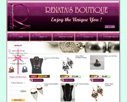 Renatas Boutique Website